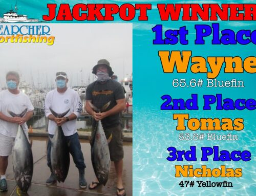 JACKPOT WINNER Private Charter Trip