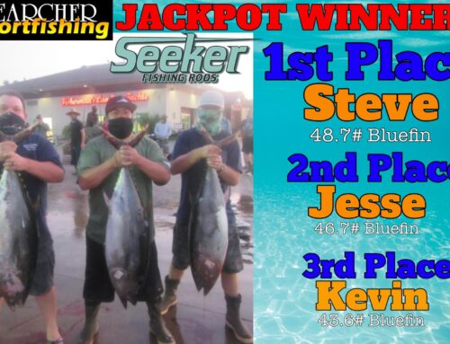 JACKPOT WINNERS Trip #26 Seeker